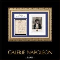 Documento Histórico - Reino de Luís XV de França - 1769 - Nascimento de Napoleão Bonaparte