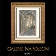 Vue de Venise - Palais des Doges - Palais Ducal - Escalier d'Or (Italie)