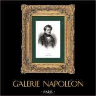 Retrato de Gilbert Duprez (1806-1896) - Cantor - Opera