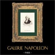 Portrait of Jean-Pierre Claris de Florian (1755-1794) - French Poet and Fabulist