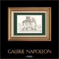 Fountain of Elephant - Bastille - Paris - Project of Napoleon