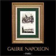 Vista de Parma (Italia) - Águila de Napoleón