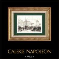 Guerras Napoleónicas - Sexta Coalición - Entrada en Amsterdam (1813)
