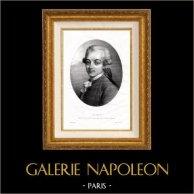 Portrait de Gilbert du Motier Marquis de La Fayette (1757-1834)