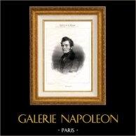 Portret van Désiré Nisard (1806-1888) - Franse politicus en auteur