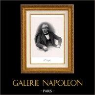 Retrato de Jules Barthélemy-Saint-Hilaire (1805-1895) - Politico Francés - Filósofo