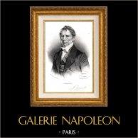 Portrait of Pierre Eloi Fouquier de Maissemy (1776-1850) - French Doctor