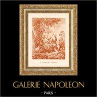 The Captive Vogel - Pastorale - Pastorale Scène (François Boucher)