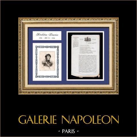 Dokument Historyczny - Rewolucja Francuska - 1799 - Jean-baptiste Jules Bernadotte - Amnezje dla Pustynników |