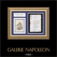 Documento Storico - RIoluzione Francese - 1792 - Patente d'Ambulante o Commerciante Ambulante