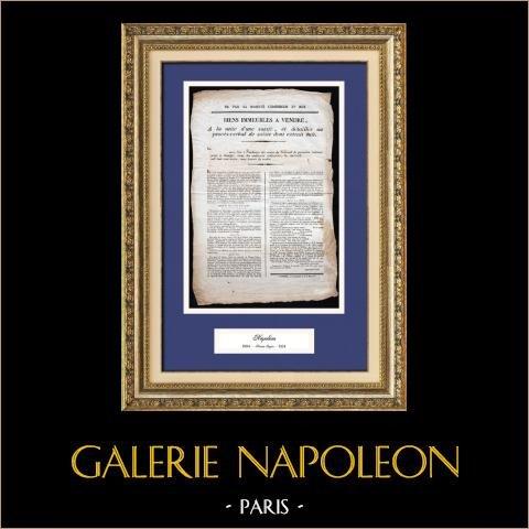 Dokument Historyczny - Panowanie Napoleona i Francji - 1813 - Pierwsze Imperium Francuskie |