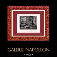 Peinture - Exposition 1888 - Maurice Réalier-Dumas (1860-1928) - Napoléon Bonaparte au sac des Tuileries (10 août 1792)