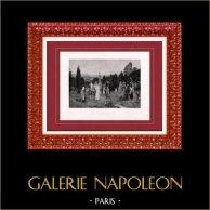 Painting - Exposition 1888 - Pierre Outin (1840-1899) - Piété filiale