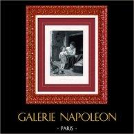 Painting - Exposition 1888 - Elizabeth Jane Gardner (1837-1922) - Housewifes