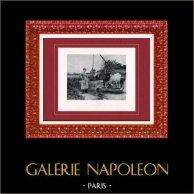 Peinture - Exposition 1888 - Édouard Debat Ponsan (1847-1913) - La Paysannerie   Héliogravure originale d'après Édouard Debat Ponsan. 1888