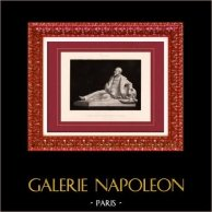 Peinture - Exposition 1888 - Antonin Mercié (1845-1916) - Tombeau
