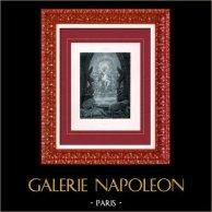 Peinture - Exposition 1888 - Louis Chalon (1866-1916) - Circé | Héliogravure originale d'après Louis Chalon. 1888