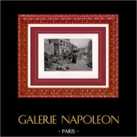 Pintura - Exposición 1888 - Paul Émile Boutigny (1853-1929) - Guerra 1870 en Bry-sur-Marne