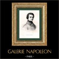 Portret van Louis Blanc (1811-1882) - Franse politicus en Historicus