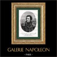 Portrait de Maximilien Caffarelli (1756-1799) - Général de la Révolution française - Guerres napoléoniennes