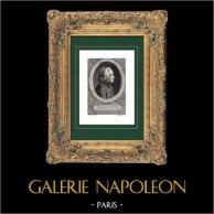 Porträt von Auguste Marseille Barthélemy (1796-1867) - Französisch Satirisch Dichter