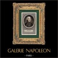 Portret van Gabriel Bonnot de Mably (1709-1785) - Franse filosoof