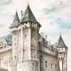 DÉTAILS 03 | Vue de Saumur - Pays de la Loire (France) - Château