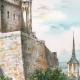 DÉTAILS 04 | Vue de Saumur - Pays de la Loire (France) - Château