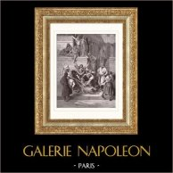 Bijbelse Scene - Bijbel - Martelaarschap van Eleazar (Gustave Doré)