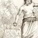 DÉTAILS 02   Îles Tonga - Kava sur la Plage de Namouka - Scène de Pugilat - Boxeur - Lutteur