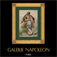 Portrait - Marquis de Pérignon (1754-1818) - Marshal of the Empire - Napoleon Bonaparte