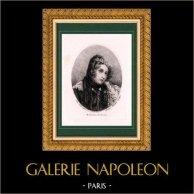 Fables de La Fontaine - La Matrone d'Ephèse (A. Devéria) | Lithographie originale dessinée par A. Devéria, lithographiée par E. Ardit. 1830