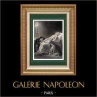 Französisch Literatur - XIX. Jahrhundert - Die Elenden (Victor Hugo) - Tod von Jean Valjean