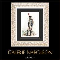 Napoleonic Wars - Uniform - Grenadier of the Imperial Guard of Napoleon - First French Empire (Emile de Sainzec)