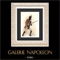 Napoleonic Wars - Uniform - Swiss Grenadier of Napoleon - First French Empire (Emile de Sainzec)