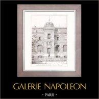 Dessin d'Architecte - Architecture - Paris - Museum d'Histoire Naturelle (M. Dutert)