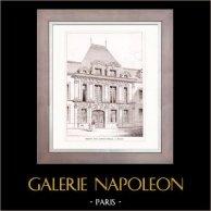 Dessin d'Architecte - Architecture - Rouen - Maison Rue Saint-Patrice