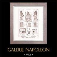 Dessin d'Architecte - Architecture - Château de Goulaine (M. Chaussepied)