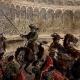 DÉTAILS 01   Combat de Taureaux en Espagne (Gustave Doré)