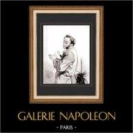 Caricature - Paris at the 19th Century - Collection Paul Gavarni 1/38