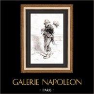 Karikatuur - Parijs aan de 19e eeuw - Collectie Paul Gavarni 3/38
