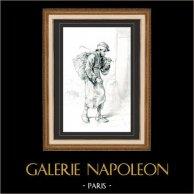 Karikatuur - Parijs aan de 19e eeuw - Collectie Paul Gavarni 13/38