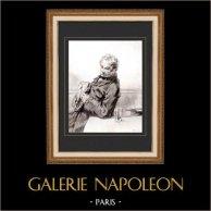 Karikatuur - Parijs aan de 19e eeuw - Collectie Paul Gavarni 15/38