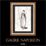Karikatuur - Parijs aan de 19e eeuw - Collectie Paul Gavarni 16/38
