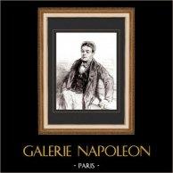 Karikatuur - Parijs aan de 19e eeuw - Collectie Paul Gavarni 17/38