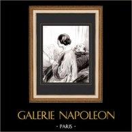 Karikatuur - Parijs aan de 19e eeuw - Collectie Paul Gavarni 19/38