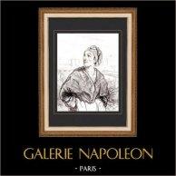Karikatuur - Parijs aan de 19e eeuw - Collectie Paul Gavarni 21/38
