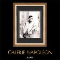 Karikatuur - Parijs aan de 19e eeuw - Collectie Paul Gavarni 22/38