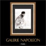 Karikatuur - Parijs aan de 19e eeuw - Collectie Paul Gavarni 25/38