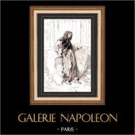 Karikatuur - Parijs aan de 19e eeuw - Collectie Paul Gavarni 26/38